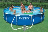 PISCINE INTEX METAL FRAME 3,66x0,76